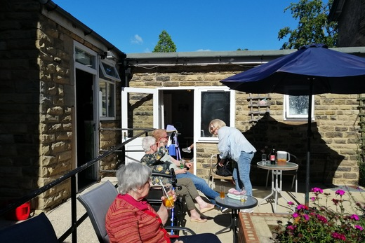 Coach House Residents and Relatives BBQ